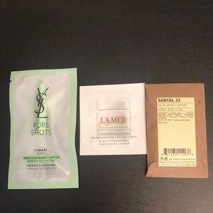 Santal 33 La Mer & YSL sample
